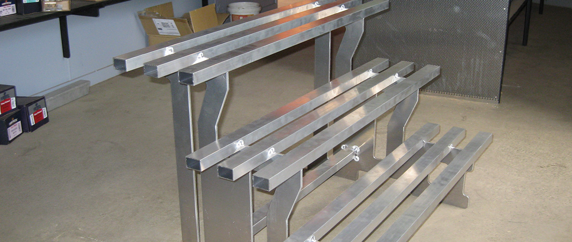 Aluminium Display Stand