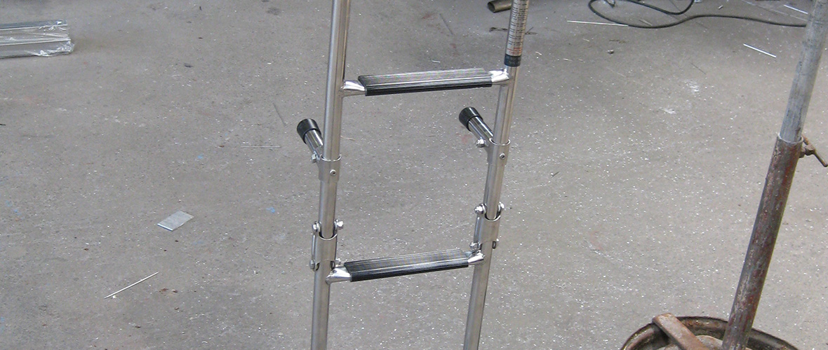 Stainless Steel Boarding Ladder Repair